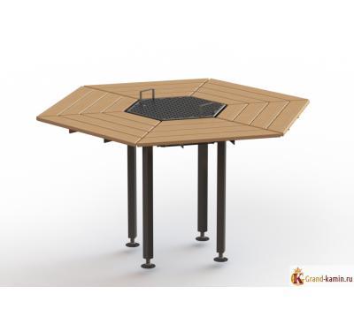 Стол Mgrill 6-тиместный (комплектация Базовая)