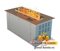 Паровой камин Airtone Vepo 500 мм (розовое золото-сатин)