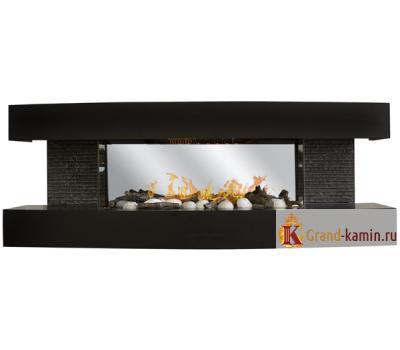 Каминокомплект Dallas BLM-P908 (черный матовый) от Real Flame