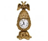 Каминные часы Фаберже Державные RF2053AB (античная бронза)