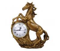 Каминные часы Конь Арго RF2003AB (античная бронза)