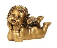 Статуэтка Мечтательный ангел RF1018AB (античная бронза)
