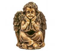 Статуэтка Ангел-Хранитель RF1054AB (античная бронза)