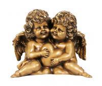 Статуэтка Ангелы-Хранители RF1019AB (античная бронза)