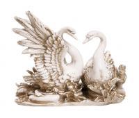 Статуэтка Лебеди RF1049 IV (Белая коллекция)