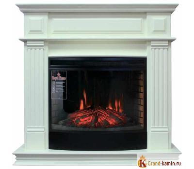 Каминокомплект Atlanta (слоновая кость) с очагом Dioramic 25 FX от Royal Flame