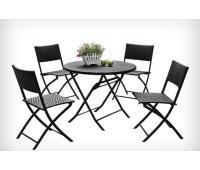 Комплект стол+4 стула Garden Way Patio 760270 (коричневый)