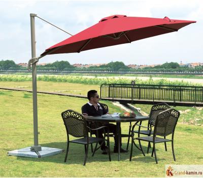 Садовый зонт А002-3000 (бордовый) от Garden Way
