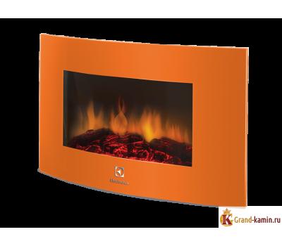 Настенный электрический камин EFP/W - 1200URLS (оранж) от производителя Electrolux