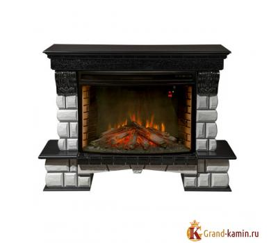 Каминокомплект Ceramic-P33 (венге) с очагом Firespace 33 от Real Flame