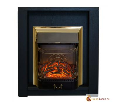 Каминокомплект Skagen (темный орех) с очагом Majestic-S Lux BR от Real Flame