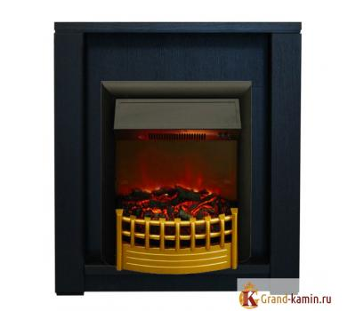 Каминокомплект Skagen (темный орех) с очагом Rimini от Real Flame