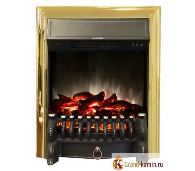 Каминокомплект Fobos Lux BR (золото) от Real Flame