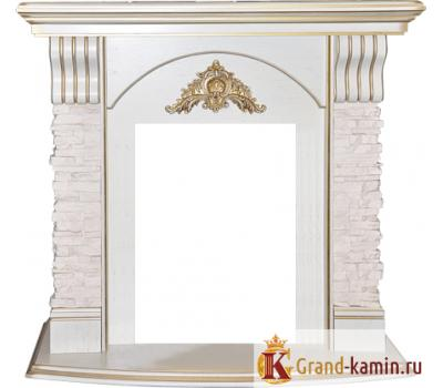 Портал Athena (белый дуб с патиной) от производителя RealFlame