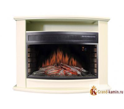 Каминокомплект Vegas (белый) с очагом Dioramic 33 FX от Royal Flame